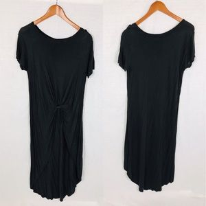 Zara Collection twist front long t shirt large